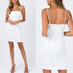 Princess Polly Donya Mini Dress in White